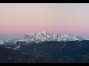 Le Mont-Blanc - Décembre 2016